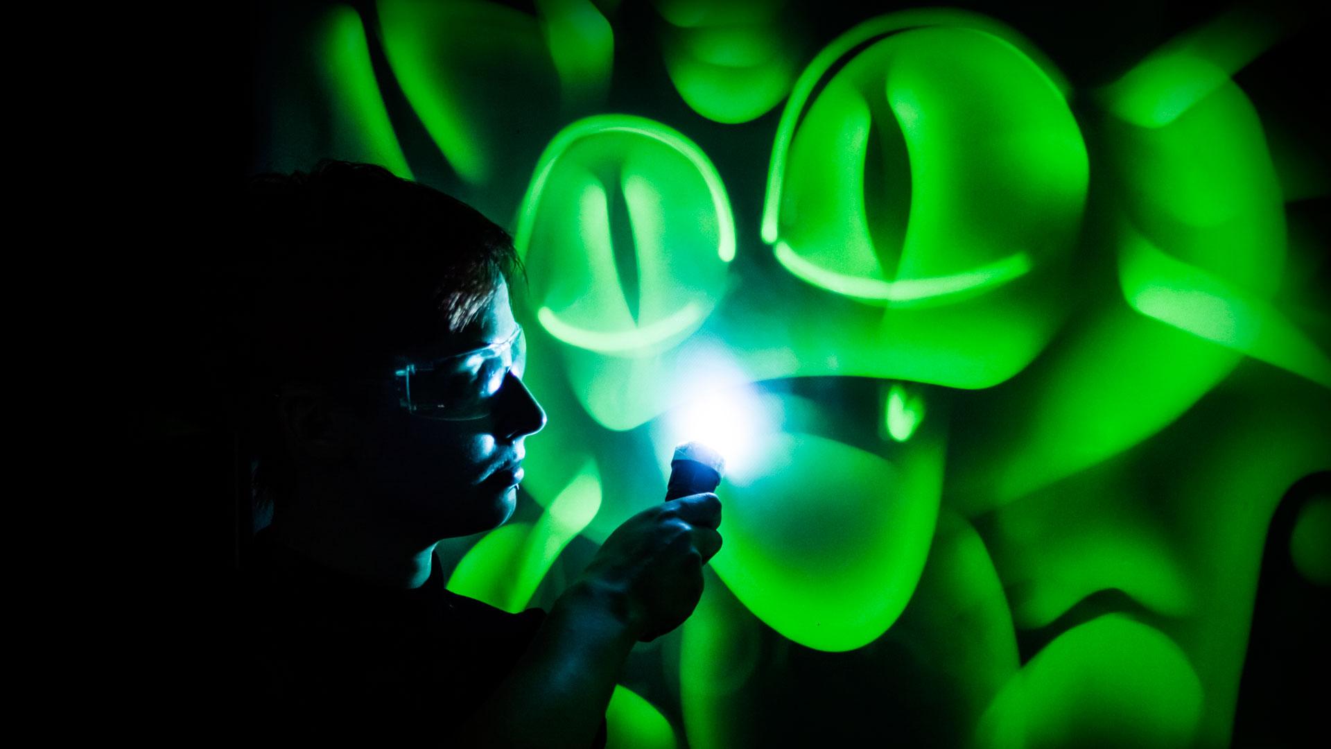 Шоу световых картин заказать в Туле, Москве
