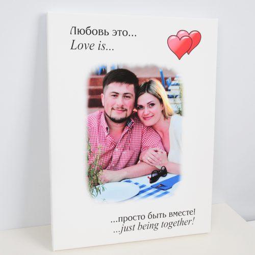 Портрет Love is заказать в Туле, Москве